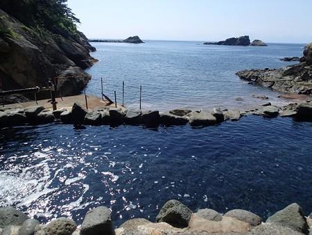 28 6 伊豆 雲見温泉 赤井浜露天風呂