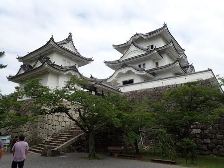 三重 伊賀上野の建物と関宿の町並み
