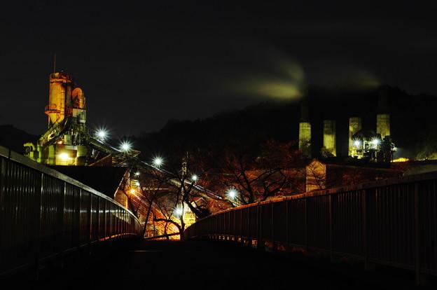 写真: この橋の先には