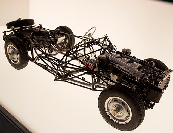 Mercedes-Benz 300SL Roadster (W198) space frame メルセデス・ベンツ スペースフレーム