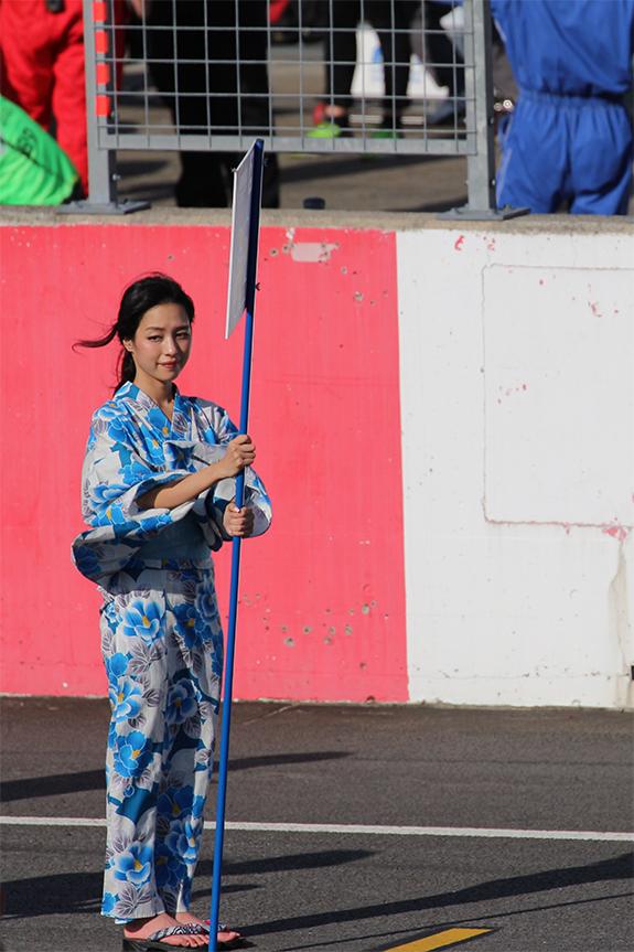 ツインリンクもてぎ WTCC 2016 Race of Japan グリッドガール