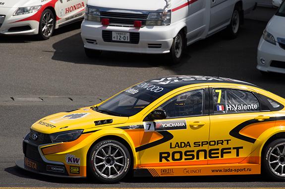 ラーダ・スポーツ・ロスネフト  (LADA Sport Rosneft) ラーダ・ベスタ(LADA Vesta) WTCC ヒューゴ・バレンテ