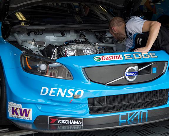 ポールスター・シアン・レーシング   (Polestar Cyan Racing ) ボルボ・S60・ポールスターTC1(Volvo S60 Polestar TC1) WTCC