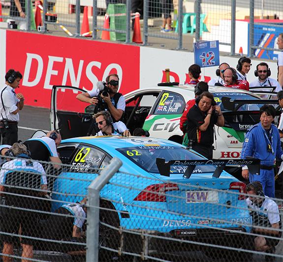 ポールスター・シアン・レーシング   (Polestar Cyan Racing ) ボルボ・S60・ポールスターTC1(Volvo S60 Polestar TC1) WTCC テッド・ビヨルク(Thed Bjork)