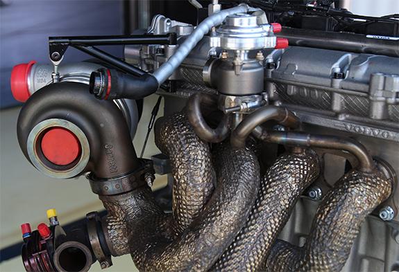 ボルボ・S60・ポールスターTC1(Volvo S60 Polestar TC1) エンジン Engine HTT ハネウェル ギャレット ターボチャージャー
