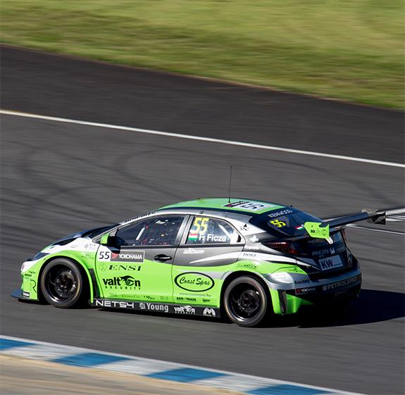 ゼングー・モータースポーツ(Zengo Motorsport) ホンダ・シビック・WTCC(Honda Civic WTCC)フェレンク・フィクツァ(Frenc Ficza)