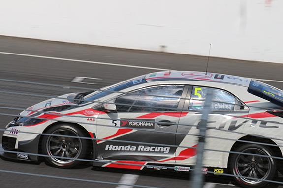 ノルベルト・ミケリス(Norbert Michelisz) ホンダ・シビック・WTCC(Honda Civic WTCC)