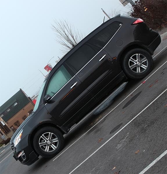 Chevrolet Traverse (シボレー・トラバース) LT 2016 サイドビュー