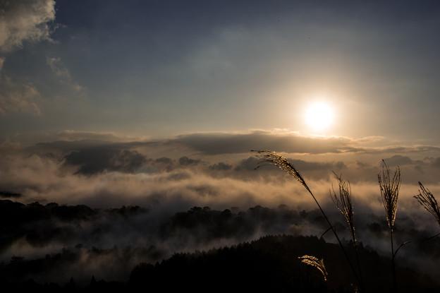 写真: 我が街の雲海♪2