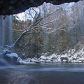 雪の鍋ヶ滝♪3