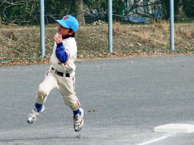 写真: CIMG1169:安全進塁でも全力疾走がモットーの小沢P