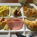 写真: 朝ご飯なう
