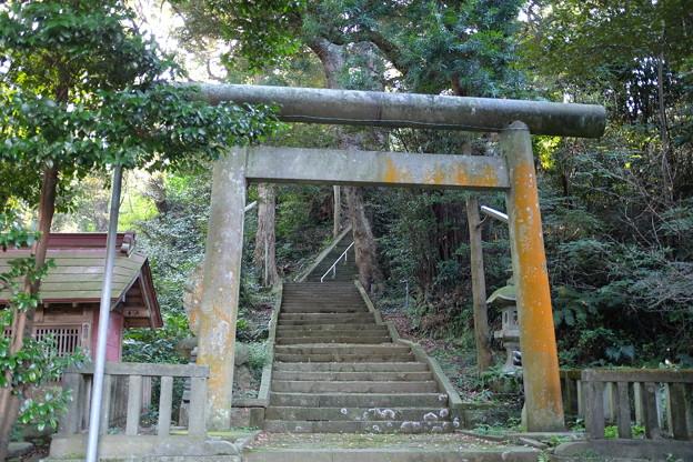鹿島神社と菅原神社の鳥居