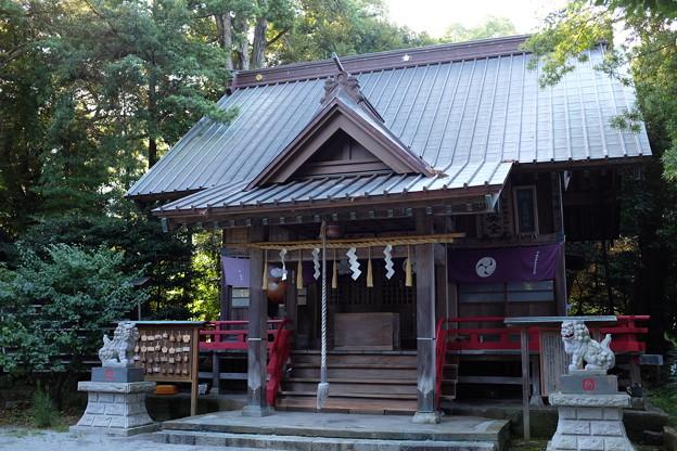 鹿島神社と菅原神社の拝殿