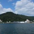 下田港と寝姿山