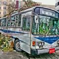 写真: 茨城県北芸術祭 331  ノアのバス