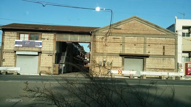 石の煉瓦造りの古い倉庫をリニューアル