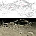 Photos: 月の北西端 North east limb of Moon