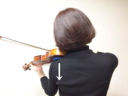 中野・江古田 バイオリン 個人レッスン ヴィオラ 吉瀬弥恵子 ワイズ音楽教室 力を入れる方向
