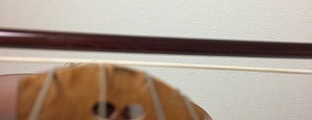 中野・江古田 バイオリン 個人レッスン ヴィオラ 吉瀬弥恵子 ワイズ音楽教室 弓の張り具合の目安