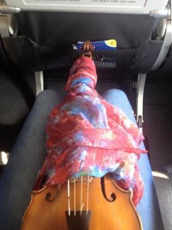 中野・江古田 バイオリン 個人レッスン ヴィオラ 吉瀬弥恵子 ワイズ音楽教室 機内持ち込み可・・・?