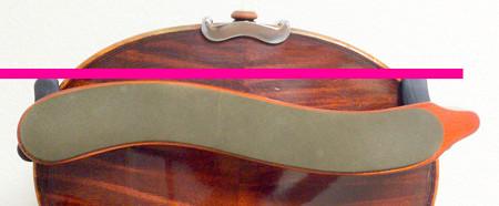 肩当てのつけ方6  東京・中野・練馬・江古田、ヴァイオリン・ヴィオラ・音楽教室