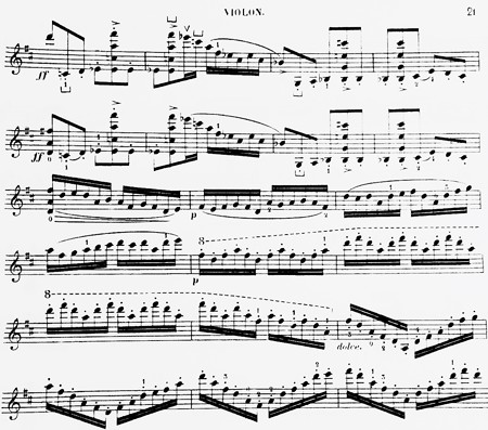東京・中野・練馬・江古田、ヴァイオリン・ヴィオラ・音楽教室 同じフレーズが2回出てきたら
