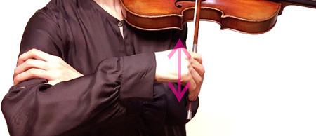 16分音符の弾き方4 東京・中野・練馬・江古田、ヴァイオリン・ヴィオラ・音楽教室
