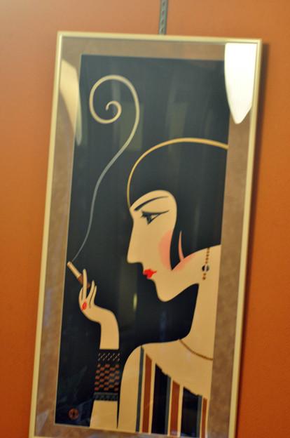 写真: 喫煙なら美しく