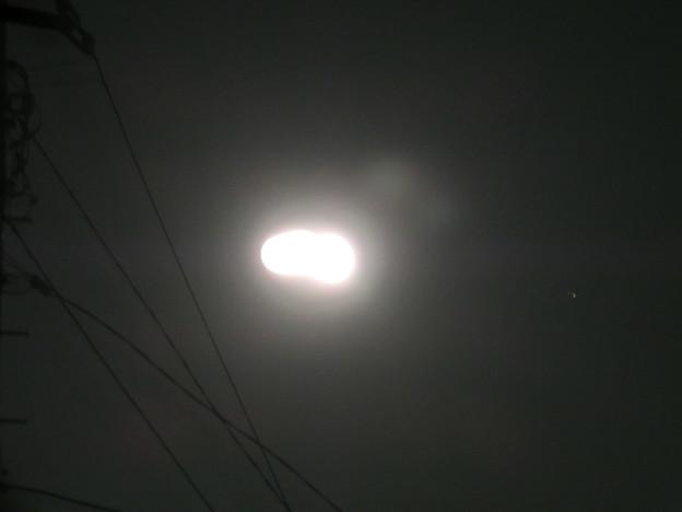 Photos: 月!分離中