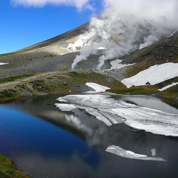 旭岳 姿見の池