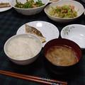 Photos: 魚と野菜の食卓