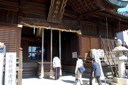 01柿本神社へ