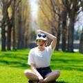 Photos: ポプラ並木で。