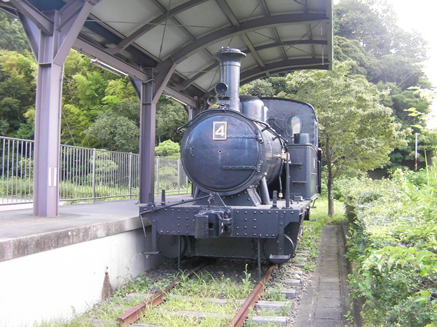 龍ケ崎鉄道4号機関車