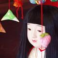 写真: 夢見る市松人形
