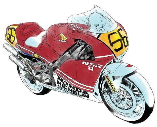 写真: 27 1989 Rothmans HONDA NSR500 Eddie Lawson ロスマンズ ホンダ エディー・ローソン IMG_7917_ペインティング