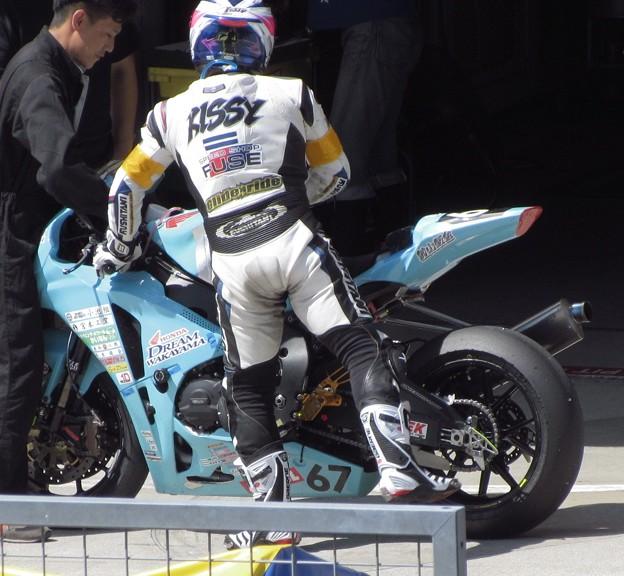 2014 鈴鹿8耐 Honda DREAM 和歌山 西中綱 岸田尊陽 新庄雅浩 CBR1000RR 887