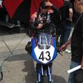 2014 #43 足立眞衣 NSF250R Hondaブルーヘルメット 全日本ロードレース J-GP3 jrr 83