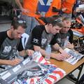 2014 鈴鹿8耐 TEAM MOTORS EVENTS APRIL MOTO Gregory FASTRE Michael SAVARY Jimmy STORRAR 97