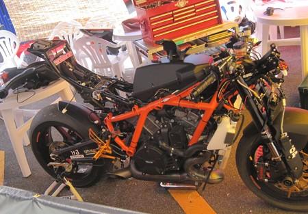 2014 鈴鹿8耐 Team HOOTERS with 斉藤祥太 大樂竜也 相馬利胤 奥田貴哉 KTM 1190 RC8R  32