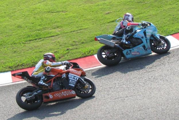 写真: 2014 鈴鹿8耐 Team HOOTERS with 斉藤祥太 大樂竜也 相馬利胤 奥田貴哉 KTM 1190 RC8R  78