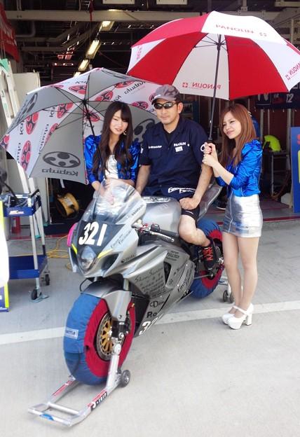 Photos: 2014 鈴鹿8耐 Team Favorite Factory 福山京太 木佐森大介 佐合弘幸 14