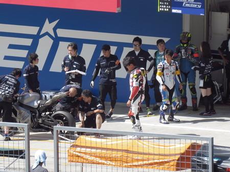 2014 鈴鹿8耐 Team Favorite Factory 福山京太 木佐森大介 佐合弘幸 850