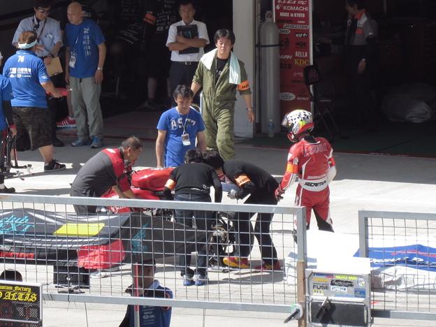 写真: 2014 鈴鹿8耐 スガイレーシングジャパン 須貝義行 蒲谷朋大 ドゥカティ 1199パニガーレR 884