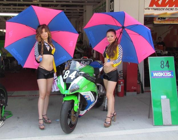 写真: 2014 鈴鹿8耐 Club Bali Racing 中島洋一 森本潤一 野村裕之 KAWASAKI ZX-10R 254