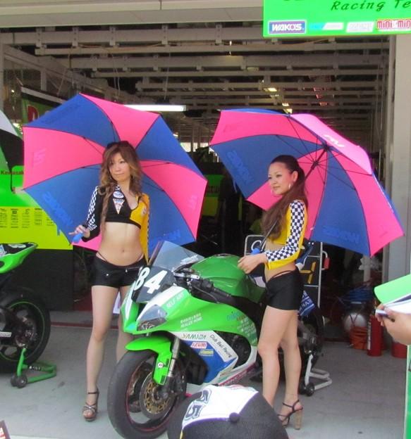 写真: 2014 鈴鹿8耐 Club Bali Racing 中島洋一 森本潤一 野村裕之 KAWASAKI ZX-10R 258