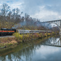 写真: The Cuyahoga Valley Scenic Railroad