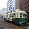 写真: 【11477号】バスと路面電車 空 平成290322 747 0000Z 101