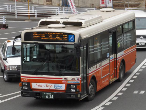 東武バスセントラル】2716号車 - 写真共有サイト「フォト蔵」